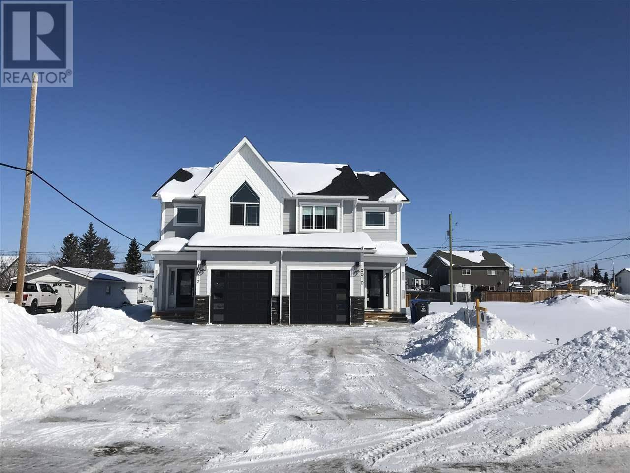 Townhouse for sale at 10010 111 Ave Fort St. John British Columbia - MLS: R2443211