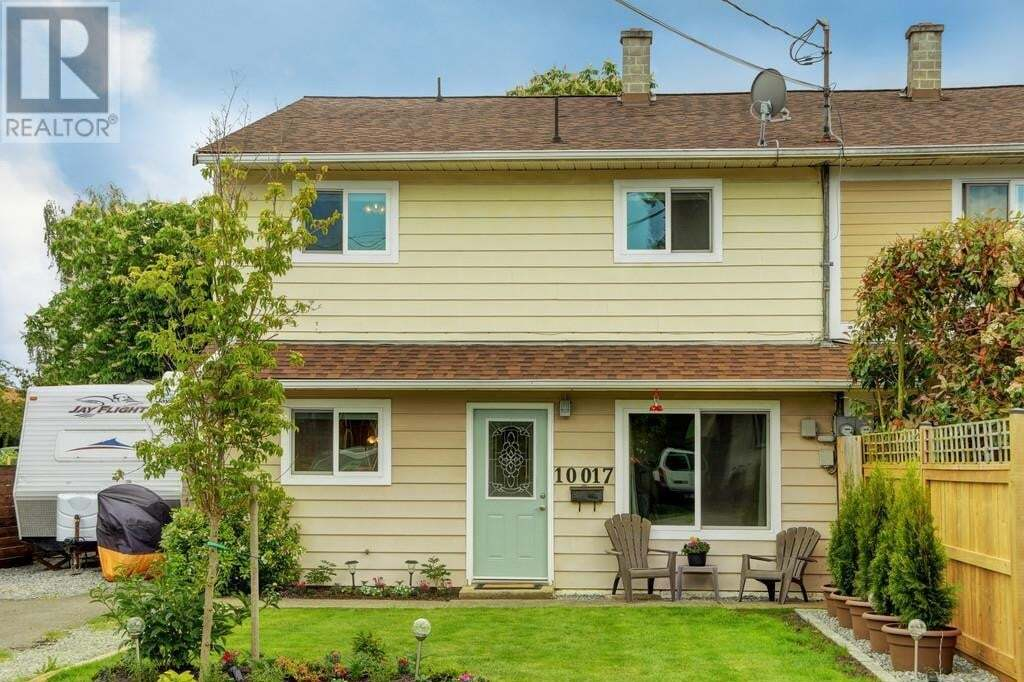 Townhouse for sale at 10017 Siddall  Sidney British Columbia - MLS: 842743