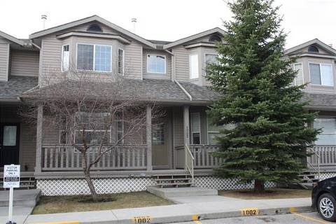 Townhouse for sale at 2001 Luxstone Blvd Southwest Unit 1002 Airdrie Alberta - MLS: C4286868