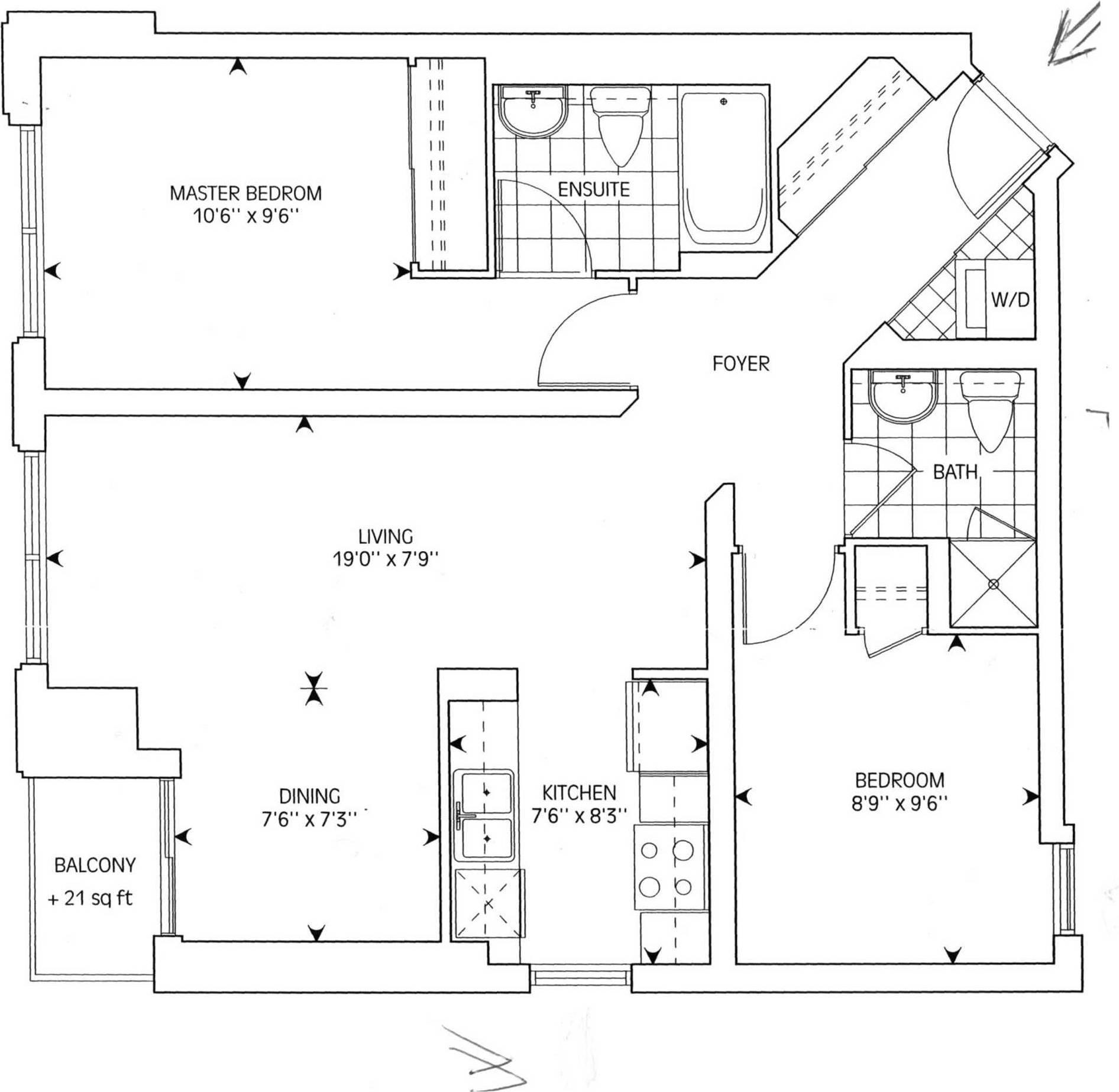 Apartment for rent at 85 Bloor St Unit 1002 Toronto Ontario - MLS: C4462733