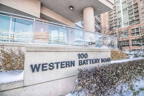 Apartment for rent at 100 Western Battery Rd Unit 1003 Toronto Ontario - MLS: C4633130