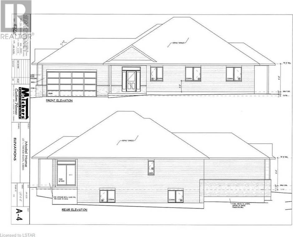 House for sale at 1 Oxbow Dr Unit 10038 Komoka Ontario - MLS: 244418
