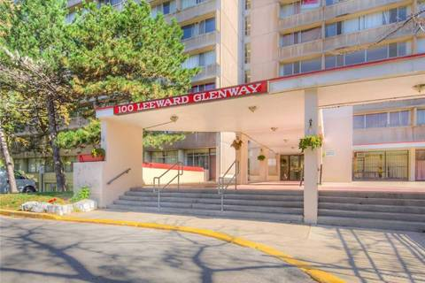 Condo for sale at 100 Leeward Glwy Unit 1005 Toronto Ontario - MLS: C4606889