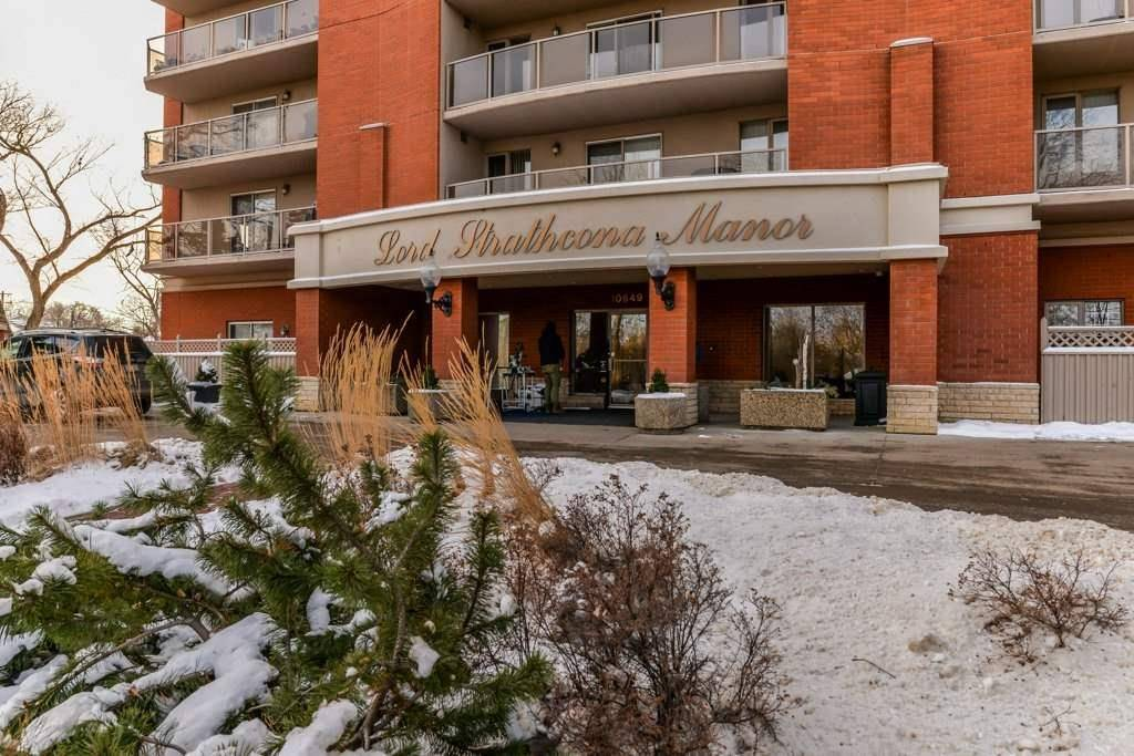 Condo for sale at 10649 Saskatchewan Dr Nw Unit 1005 Edmonton Alberta - MLS: E4186093