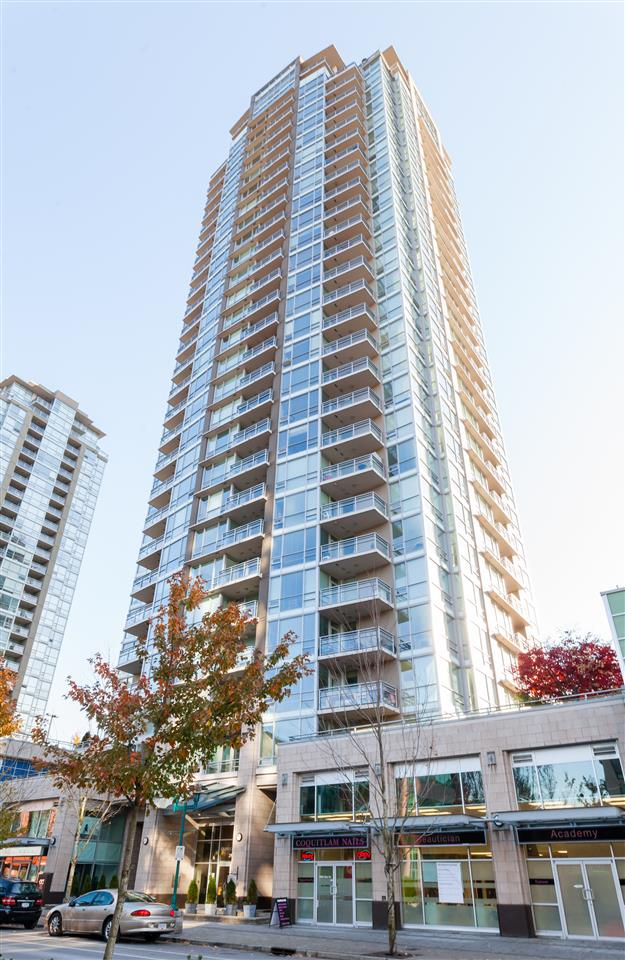 For Sale: 1006 - 2968 Glen Drive, Coquitlam, BC | 1 Bed, 1 Bath Condo for $448,000. See 20 photos!