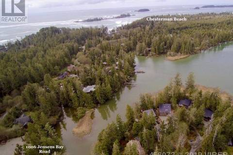 Residential property for sale at 1006 Jensens Bay Rd Tofino British Columbia - MLS: 456073