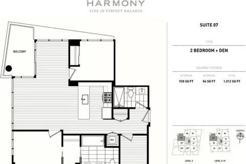 Condo for sale at 8288 Granville Ave Unit 1007 Richmond British Columbia - MLS: R2395121