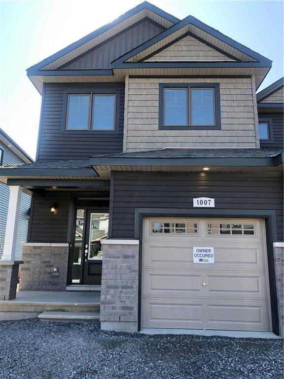 Townhouse for rent at 1007 Cedar Creek Dr Ottawa Ontario - MLS: 1166770