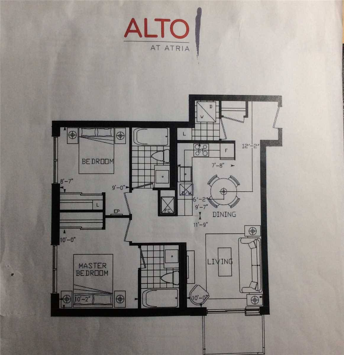 Condo for sale at 55 Ann O'reilly Rd Unit 1008 Toronto Ontario - MLS: C4422129