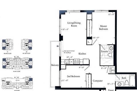 Apartment for rent at 7165 Yonge St Unit 1009 Markham Ontario - MLS: N4514895