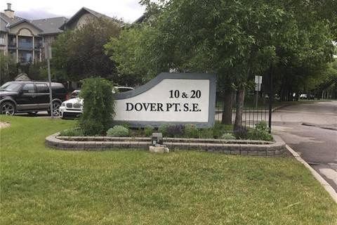 Condo for sale at 101 10 Dover Point  Southeast Unit 101 Calgary Alberta - MLS: C4254846