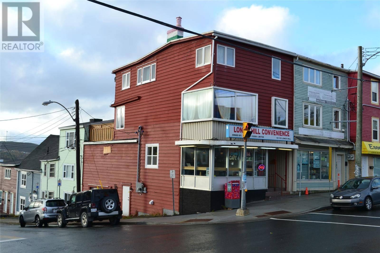 Residential property for sale at 101 Longs Hl St. John's Newfoundland - MLS: 1205619
