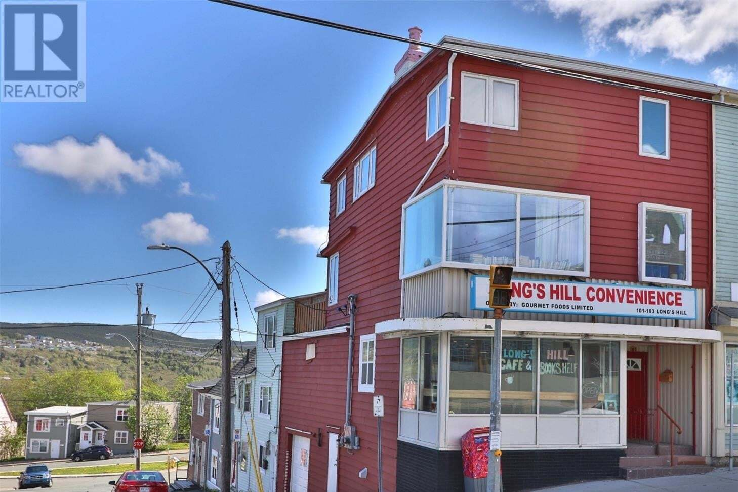 Commercial property for sale at 101 Longs Hl St. John's Newfoundland - MLS: 1214642
