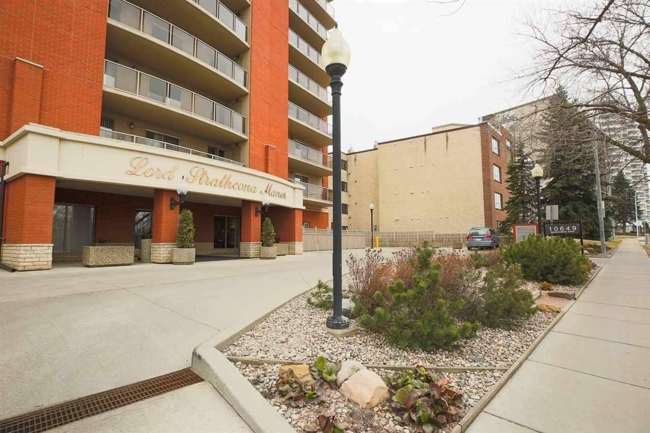 Buliding: 10649 Saskatchewan Drive Northwest, Edmonton, AB
