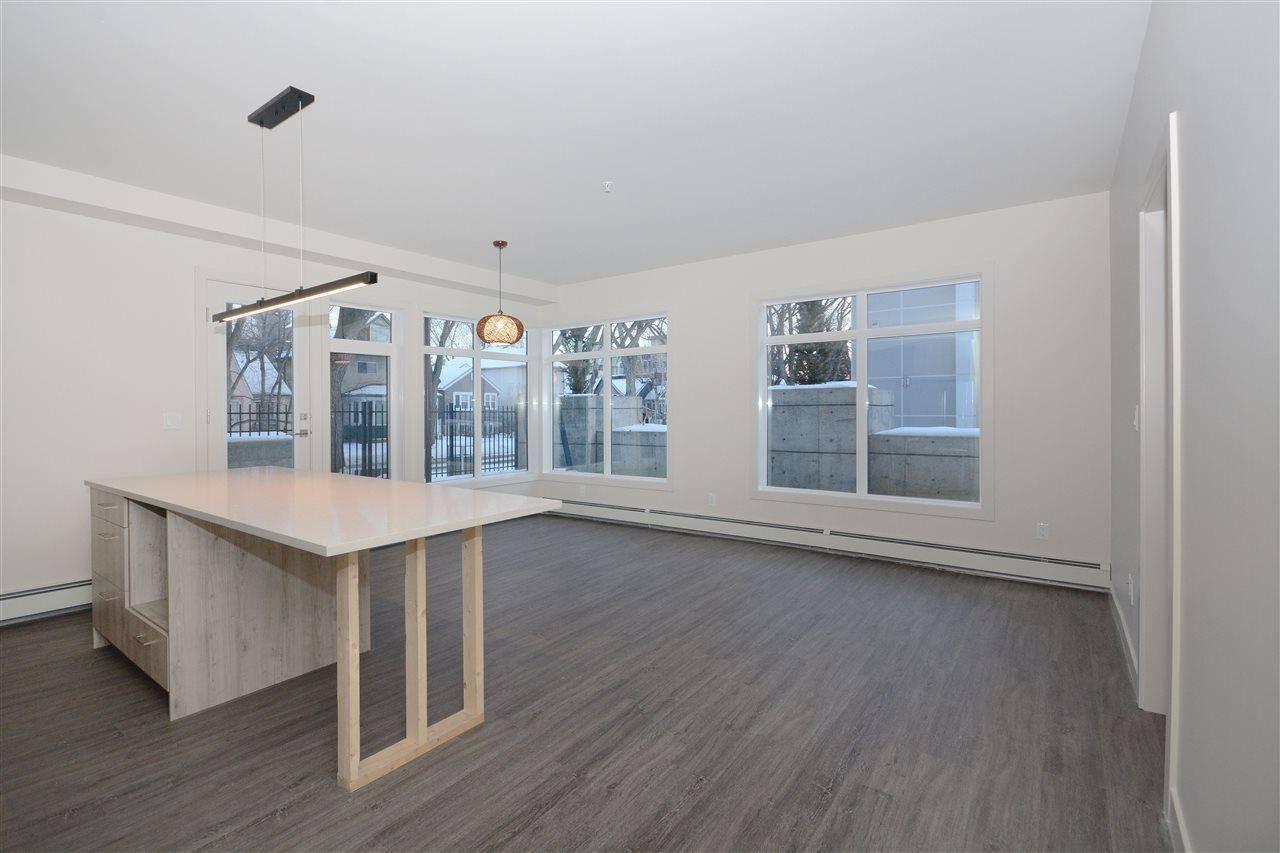 Condo for sale at 10837 83 Ave Nw Unit 101 Edmonton Alberta - MLS: E4186979