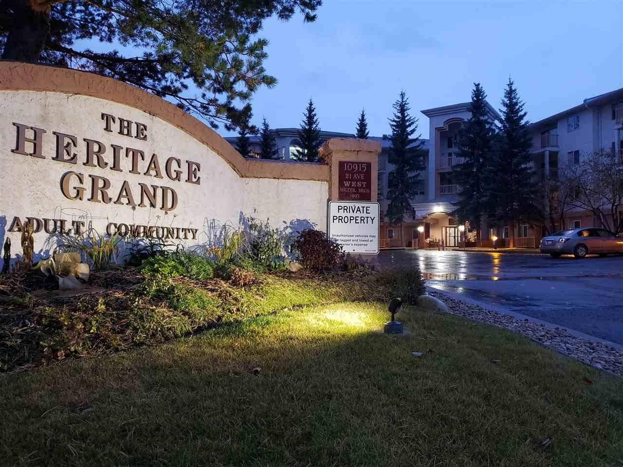 Condo for sale at 10915 21 Ave Nw Unit 101 Edmonton Alberta - MLS: E4195040