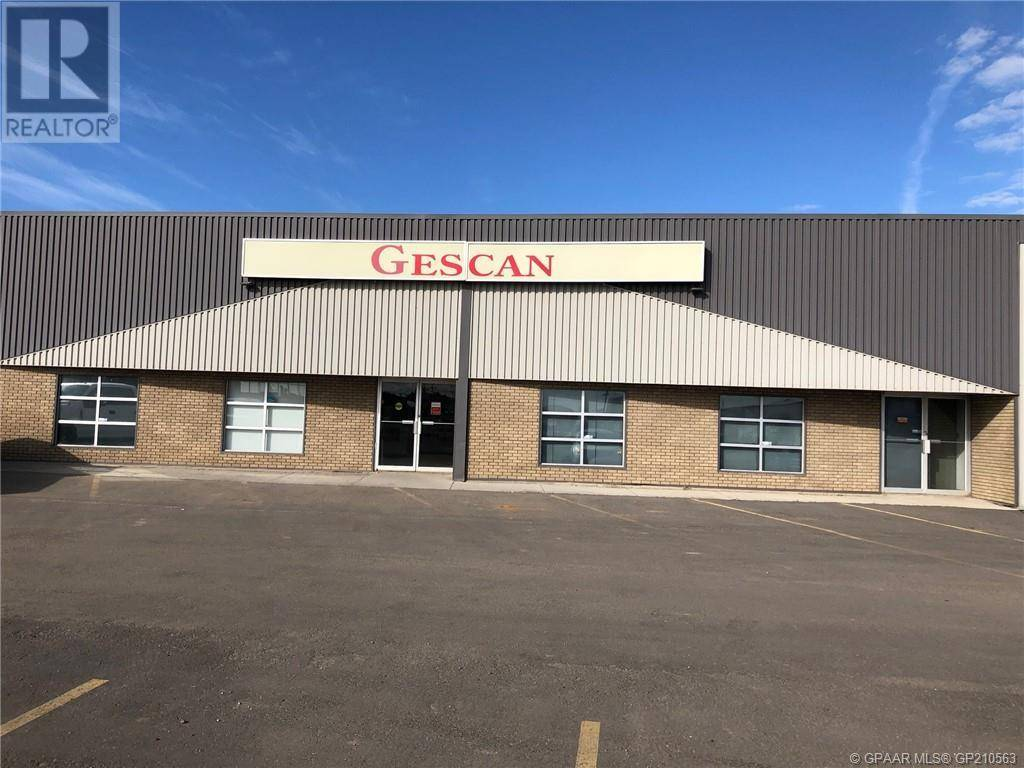 Commercial property for sale at 10919 96 Ave Unit 101 Grande Prairie Alberta - MLS: GP210563