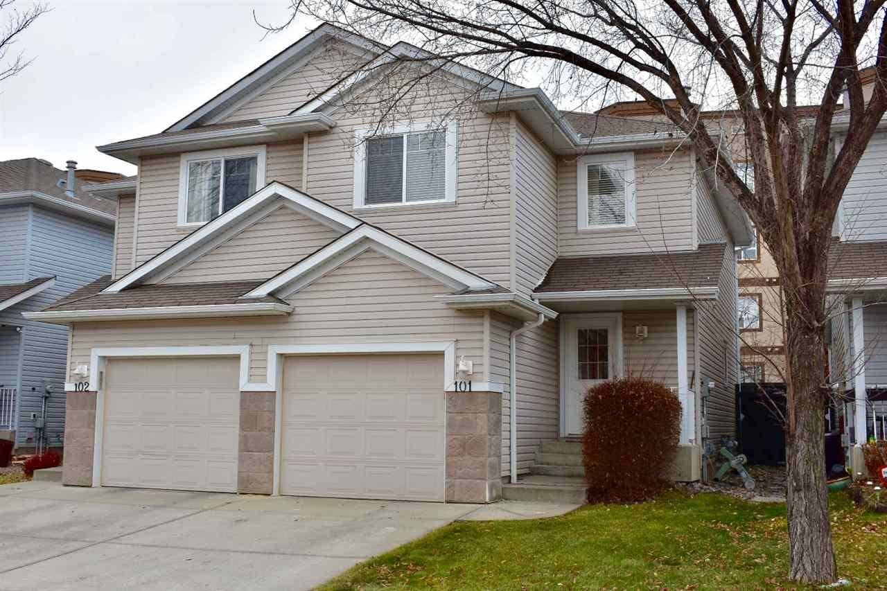 Townhouse for sale at 2021 Grantham Ct Nw Unit 101 Edmonton Alberta - MLS: E4178791