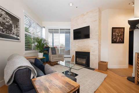 Townhouse for sale at 2197 2nd Ave W Unit 101 Vancouver British Columbia - MLS: R2449013