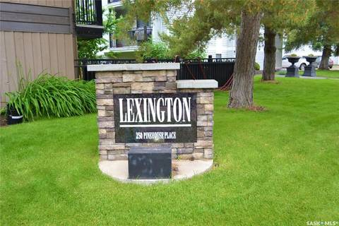 Condo for sale at 250 Pinehouse Pl Unit 101 Saskatoon Saskatchewan - MLS: SK776804