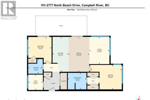 Condo for sale at 2777 North Beach  Unit 101 Campbell River British Columbia - MLS: 842628