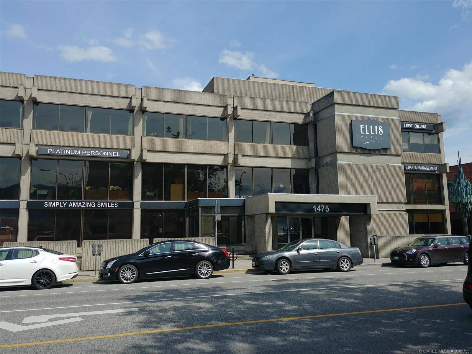 Commercial property for sale at 1475 Ellis St Unit 101/3/4 Kelowna British Columbia - MLS: 10189799