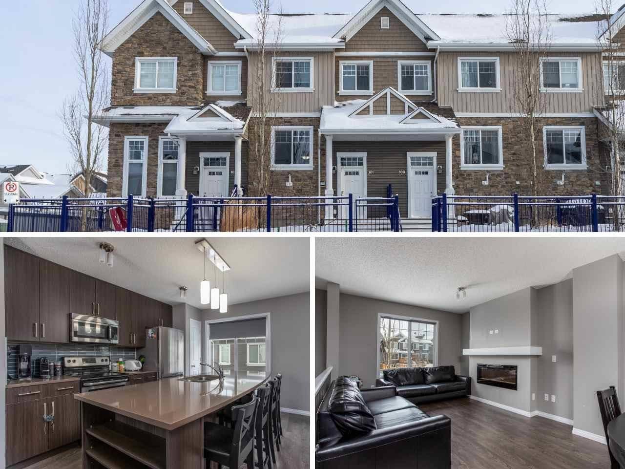 Townhouse for sale at 4050 Savaryn Dr Sw Unit 101 Edmonton Alberta - MLS: E4184286