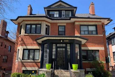 Townhouse for rent at 648 Broadview Ave Unit 101 Toronto Ontario - MLS: E4768580