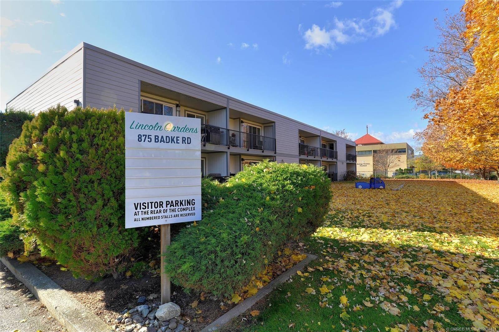 Townhouse for sale at 875 Badke Rd Unit 101 Kelowna British Columbia - MLS: 10194451