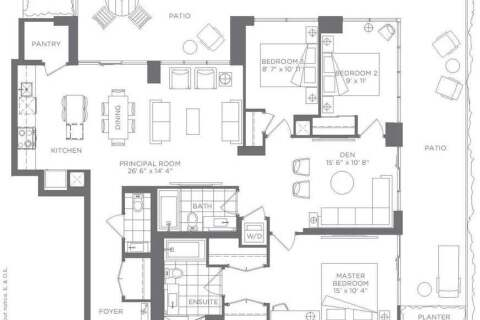 Condo for sale at 9 Tippett Rd Unit 101 Toronto Ontario - MLS: C4805308