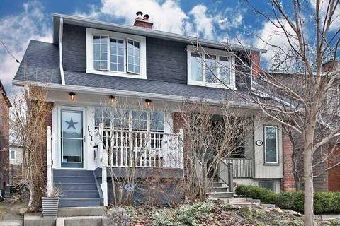 Townhouse for sale at 101 Bowmore Rd Toronto Ontario - MLS: E4730869