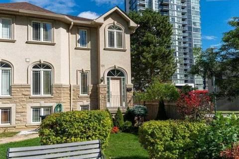 Townhouse for sale at 101 Doris Ave Toronto Ontario - MLS: C4588236