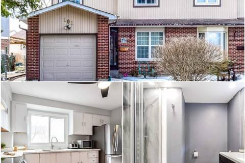 Townhouse for sale at 101 Fanshawe Dr Brampton Ontario - MLS: W4499469