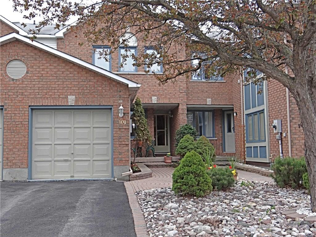 For Sale: 101 Mcgibbon Drive, Ottawa, ON | 3 Bed, 3 Bath Townhouse for $399,900. See 26 photos!