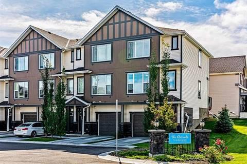 Townhouse for sale at 101 New Brighton Walk/walkway Southeast Calgary Alberta - MLS: C4264680