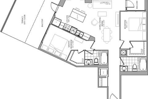 Apartment for rent at 60 Berwick Ave Unit 1010 Toronto Ontario - MLS: C4649997