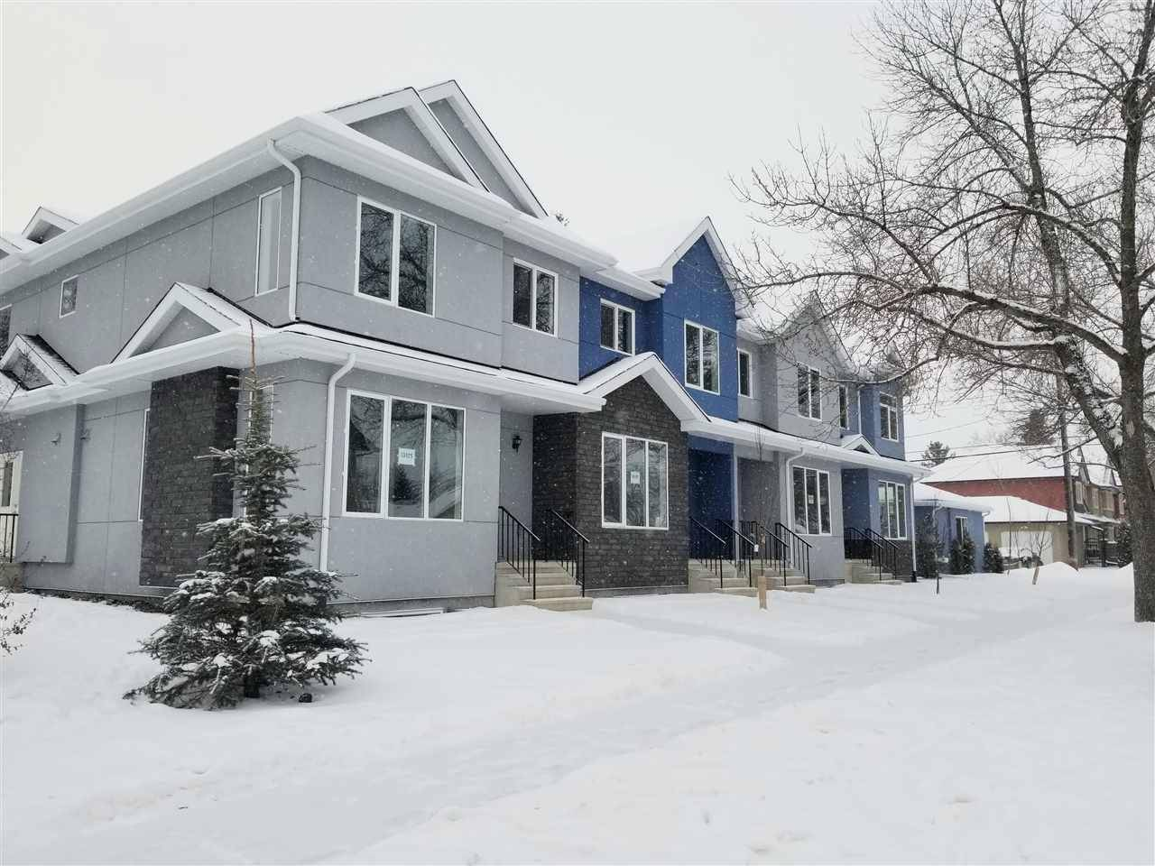 Townhouse for sale at 10105 113 Ave Nw Unit 10105 Edmonton Alberta - MLS: E4182243