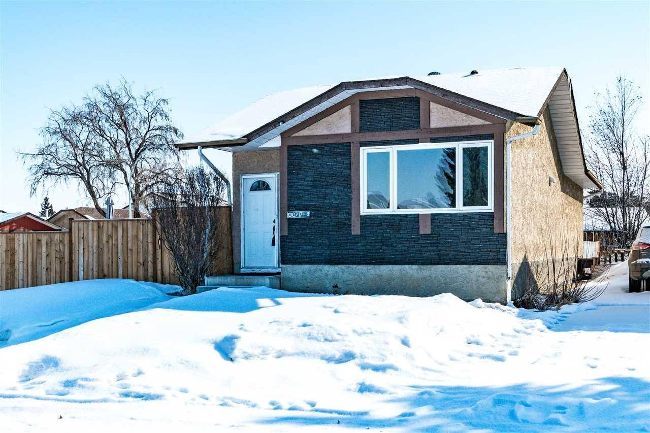 House for sale at 10107 171a Ave Nw Edmonton Alberta - MLS: E4193433
