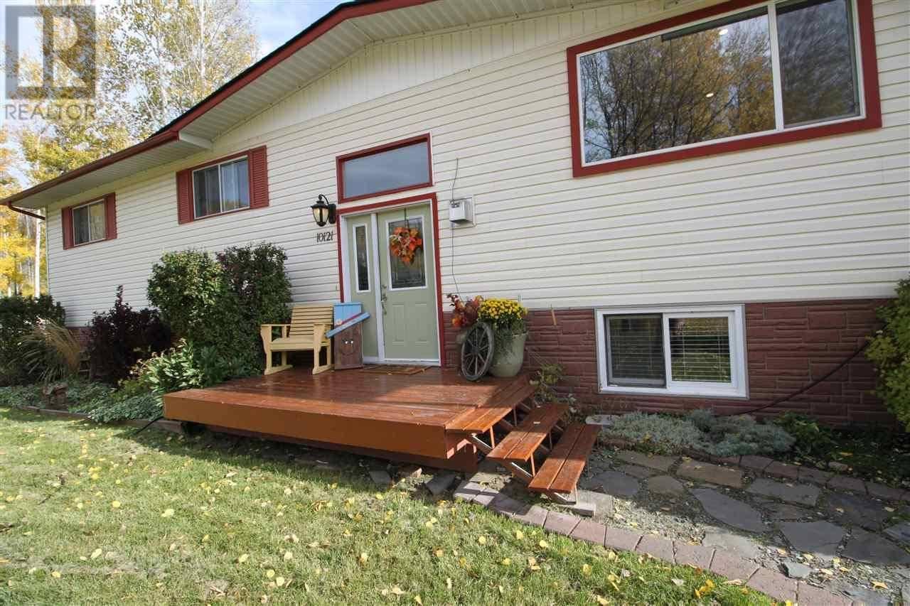 House for sale at 10121 Macintosh Cres Hudsons Hope British Columbia - MLS: R2412520