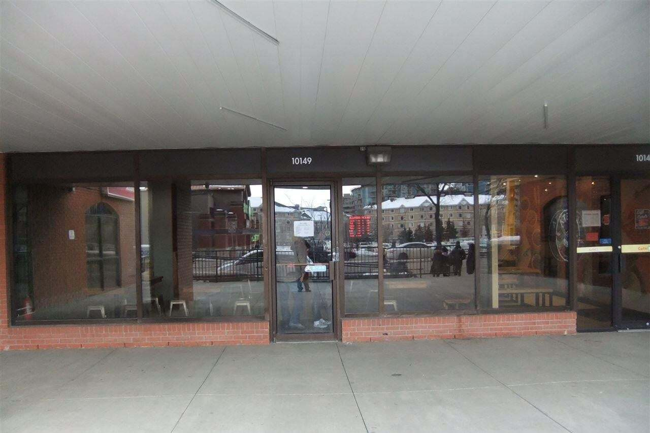 Commercial property for sale at 10149 109 St NW Edmonton Alberta - MLS: E4187255
