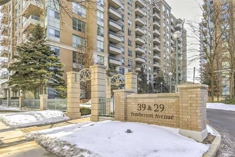 Condo for sale at 39 Pemberton Ave Unit 1017 Toronto Ontario - MLS: C4701475