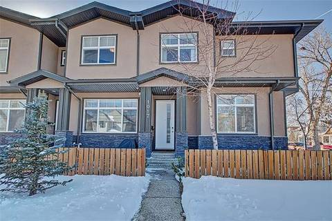 Townhouse for sale at 1017 4 St Northeast Calgary Alberta - MLS: C4291540