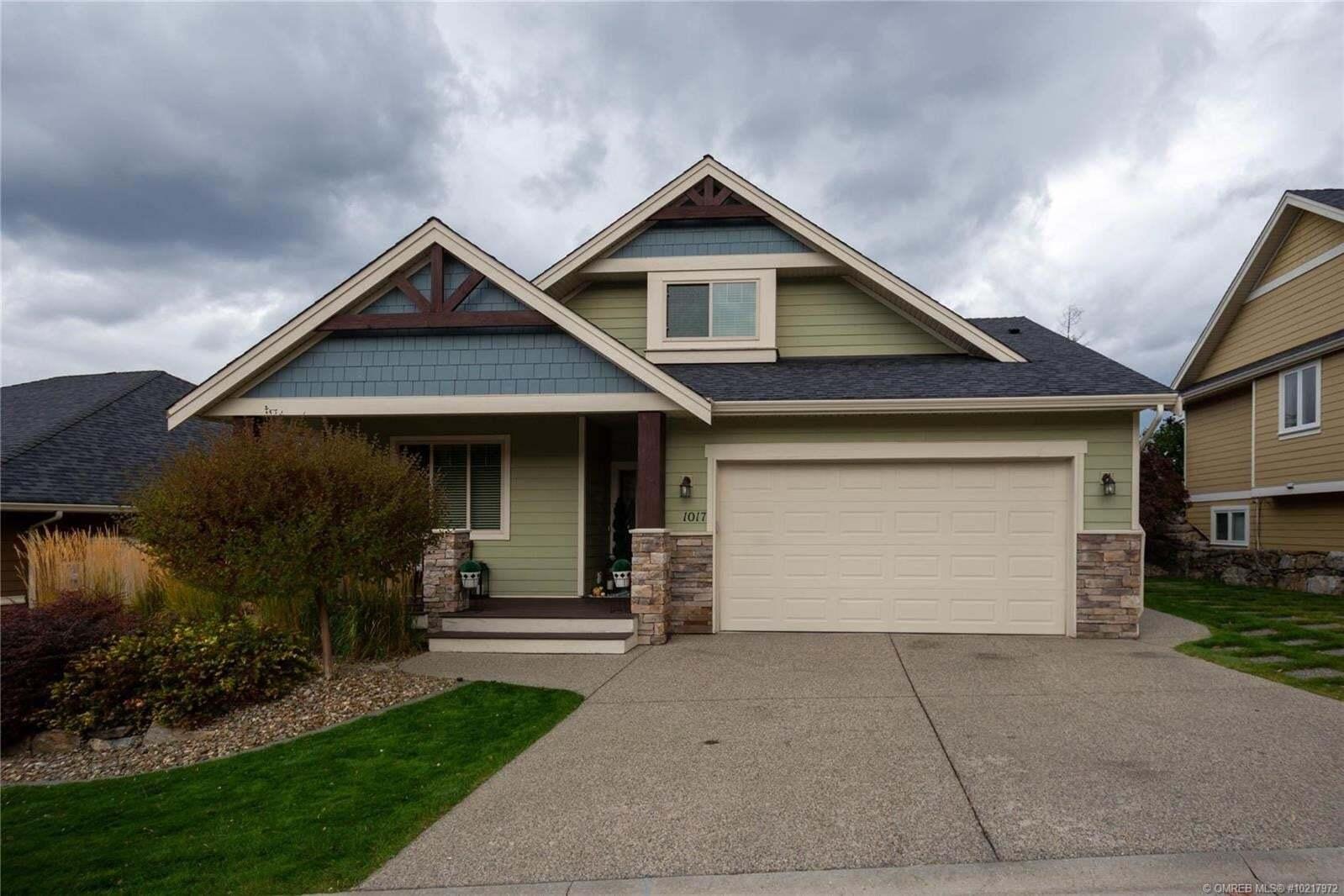 House for sale at 1017 Long Ridge Dr Kelowna British Columbia - MLS: 10217972