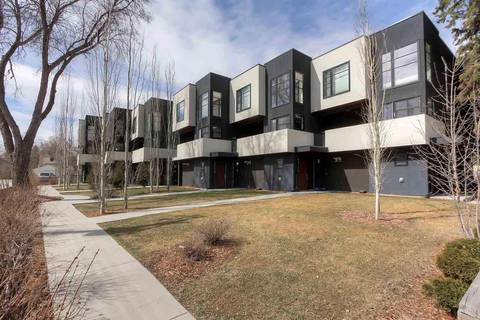 Townhouse for sale at 10176 143 St Nw Edmonton Alberta - MLS: E4153497