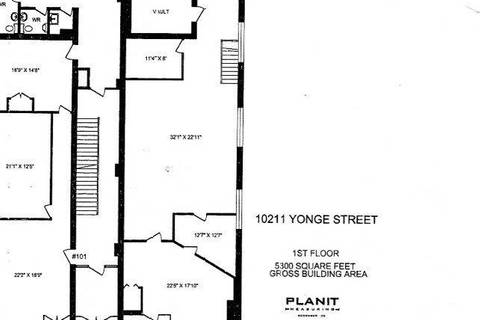 Commercial property for lease at 10211 Yonge St Apartment 102 Richmond Hill Ontario - MLS: N4699895