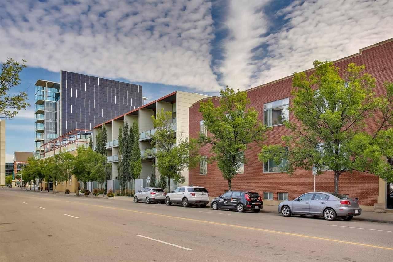 Condo for sale at 10309 107 St Nw Unit 102 Edmonton Alberta - MLS: E4172257