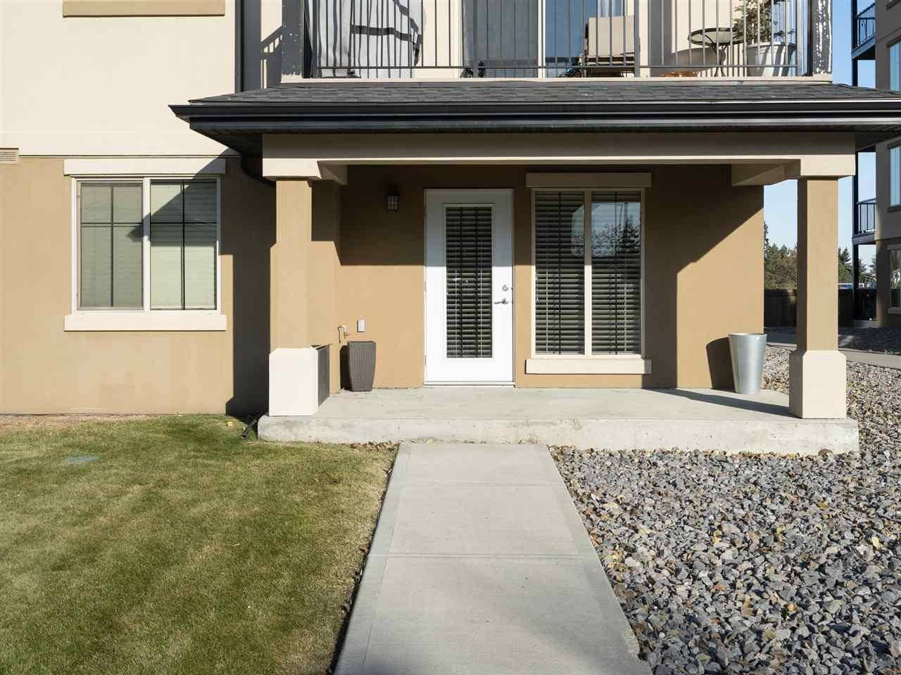 Condo for sale at 10530 56 Ave Nw Unit 102 Edmonton Alberta - MLS: E4179173