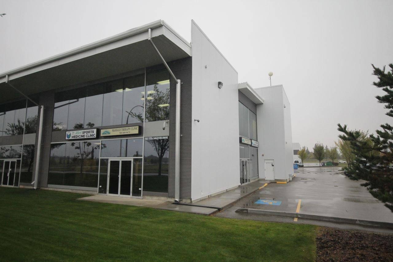 Commercial property for sale at 125 Carleton Dr Unit 102 St. Albert Alberta - MLS: E4189520