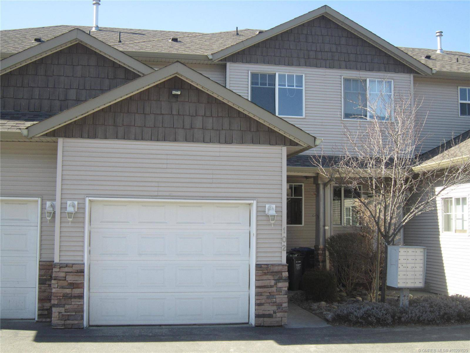 Townhouse for sale at 1420 Terai Rd Unit 102 Kelowna British Columbia - MLS: 10201525