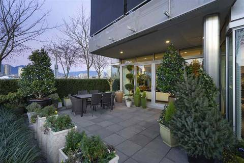 Condo for sale at 181 Athletes Wy Unit 102 Vancouver British Columbia - MLS: R2443044